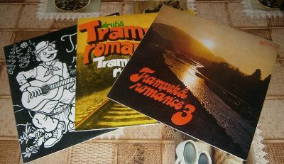 LP - Trampská romance 1,2,3 (3xLP) / Perfektní stav!