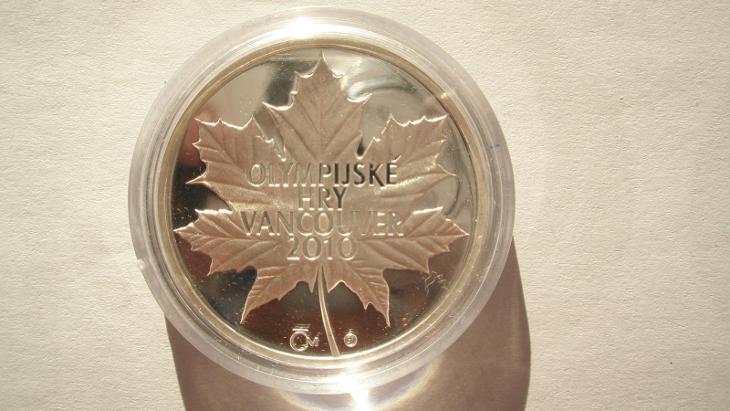 Český olympinský výbor -  Vancouver 2010 - Faleristika