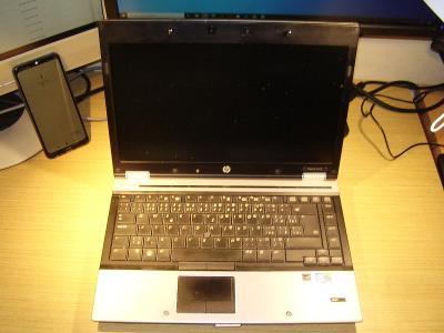 HP8440p +docking,i5,8GB RAM,320GB 7200rpm,1600 x 900,bat.dobrá,win10