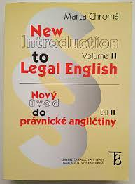 New introduction to legal English Nový úvod do právnické angličtiny 2