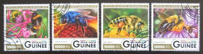 Guinea 2016 Včely Mi# 11931-34 Kat 16€ 2231
