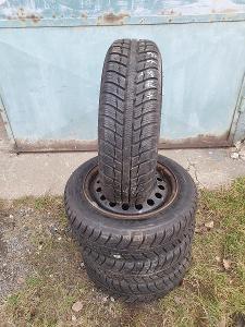 4ks ZIMNÍ PNEU 155/65 r14 Michelin