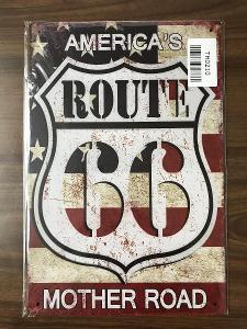 Retro reklamní cedule-Route 66