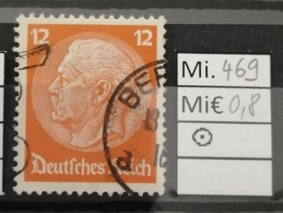 Deutsches Reich, DR Mi 469