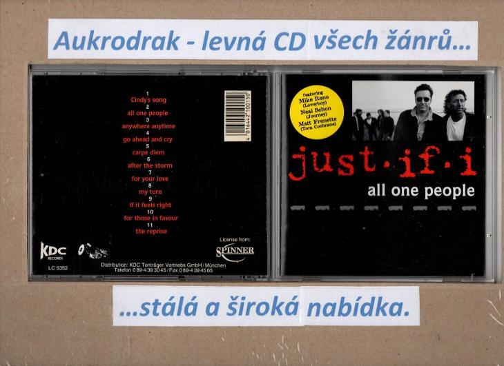 CD/Just It I-All One People - Hudba
