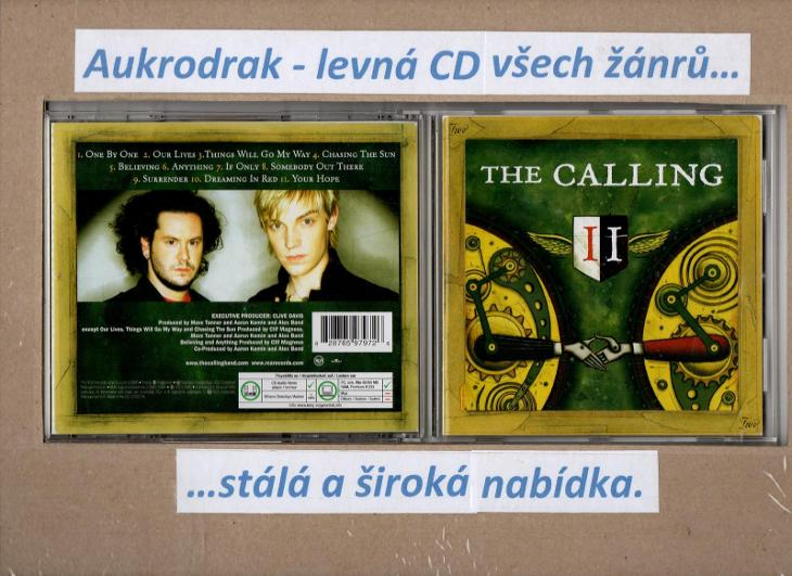 CD/The Calling-II. - Hudba