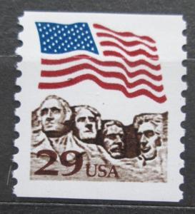 USA 1991 Mount Rushmore a státní vlajka Mi# 2123 2207