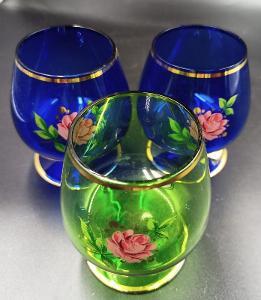 Sada skleniček na víno/3 ks - Bohemia...(12537)