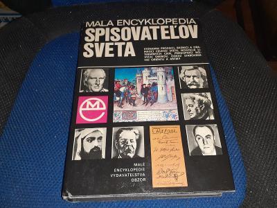 Ján Juríček - Malá encyklopédia spisovateľov sveta 1978