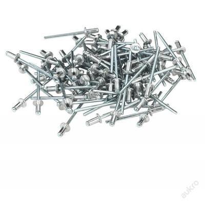 Trhací nýty hliníkové 4,0x10mm 50ks Profi M17524