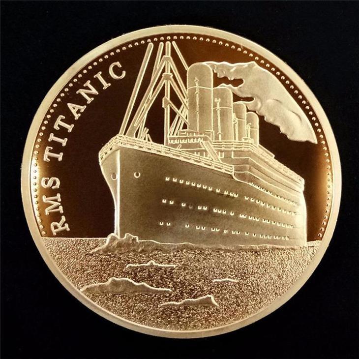 Pamětní mince - Titanic - Numismatika