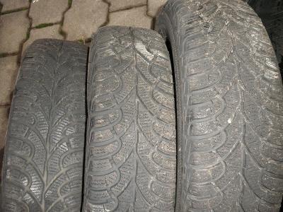 Prodám 3 zimní pneu Fulda 165/65 R14 79T M+S