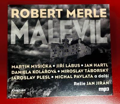 Robert Merle MALEVIL CD audiokniha