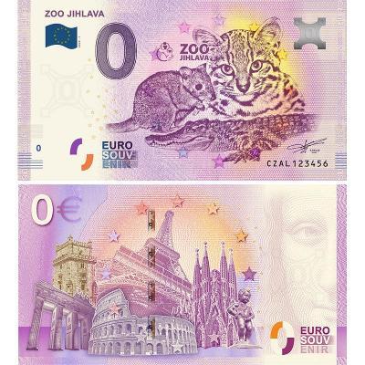 0 Euro souvenir - CZ2020 - ZOO JIHLAVA