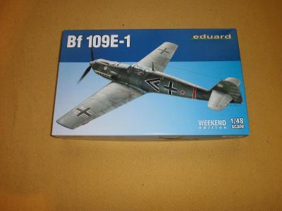 Messerschmitt BF 109E-1 /Eduard,nový model!!/