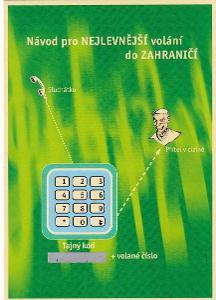 REKLAMNÍ POHLEDNICE TELECOM XCALL