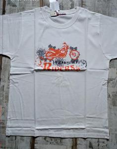 Nové! Tričko s motorkou vel. 158