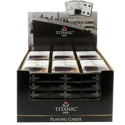 Balíček hracích karet Titanic Collectors Vintage