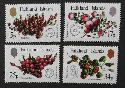 Falklandské ostrovy 1983 4€ Druhy brusinek a ostružin, flora