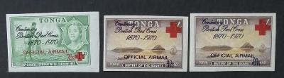 Tonga 1970 16€ 100 let Britského Červeného kříže - ÚŘEDNÍ