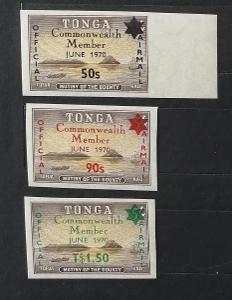 Tonga 1971 14€ Vstup ostrovů do Commonwealth - ÚŘEDNÍ