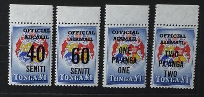 Tonga 1967 10€ Přetisky nové měny - ÚŘEDNÍ