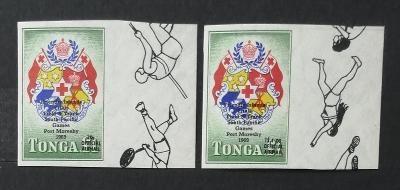 Tonga 1969 2,5€ 3. Jihopacifické hry Port Moresby - ÚŘEDNÍ