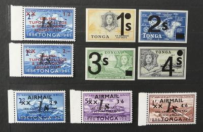Tonga 1971 14€ Otevření univerzity v Tupou a přetisky měny