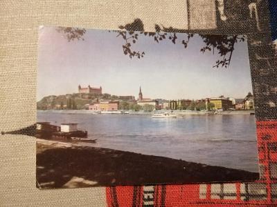 Pohlednice - Bratislava, neprošla poštou