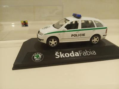 ŠKODA FABIA COMBI  POLICIE PČR KADEN ORIGINÁL !!!
