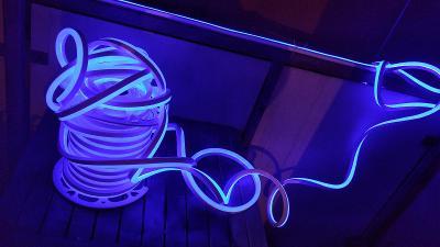 Led diody profesionálnítěsný venkovni modry cena za metrled pasky