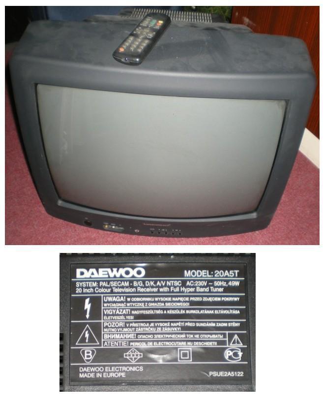 TV Daewoo - TV, audio, video
