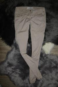 S.Oliver béžové dámské chinos kalhoty slim 36