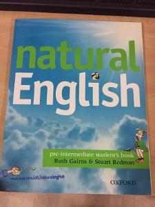 Učebnice angličtiny -NATURAL ENGLISH PRE-INTERMEDIATE SB -studentská