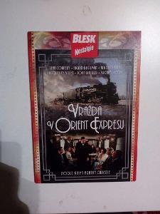 DVD, film Vražda v Orient expresu