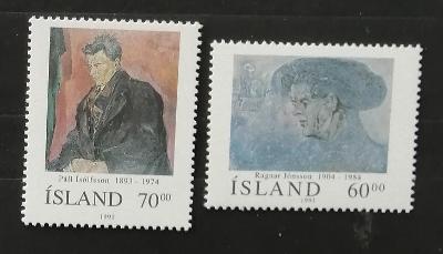 Island 1991 4€ Osobnosti Islandu X.