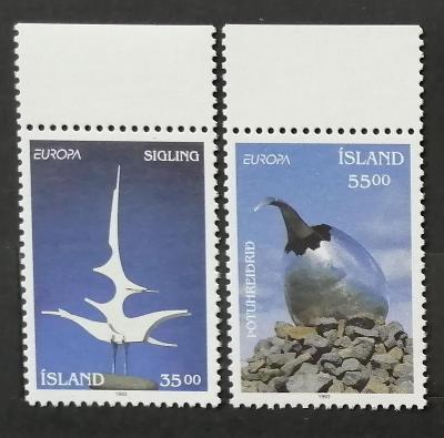 Island 1993 5€ Moderní umění