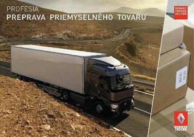 Renault Trucks T prospekt 12 / 2017 SK