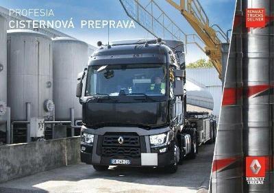Renault Trucks T prospekt 11 / 2017 SK