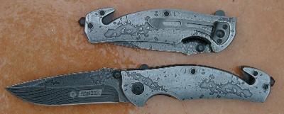 Zavírací záchranářský nůž Kandar celokovový