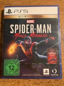 SPIDER-MAN MILES MORALES - ULTIMATE ED. - ČESKÉ TITULKY - PS5 - NOVÁ