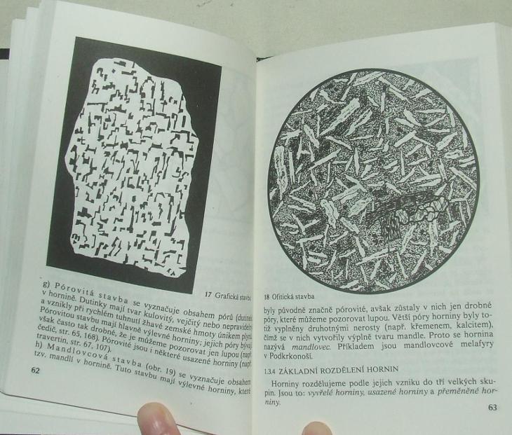 Klíč k určování nerostů a hornin - geologie minralogie - F. Němec - Knihy