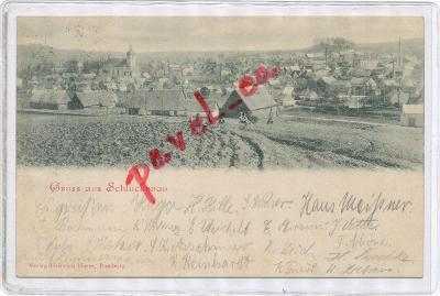 Šluknov 1901 Šenov Rumburk Nový Bor Chřibská Děčín 3013