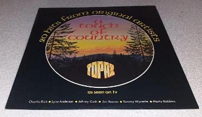 LP A Touch Of Country - 20 Hits From Original Artists