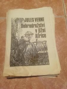 Jules Verne / Dobrodružství v jižní Africe Knihovnička časopisu ABC