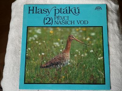 LP Hlasy ptáků 2 - Pěvci našich vod (1989 field recording)