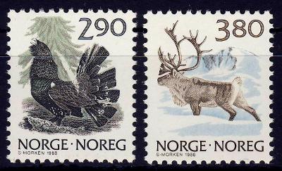 Norsko 1988 **/ Mi. 986-7 , komplet , /Z5/