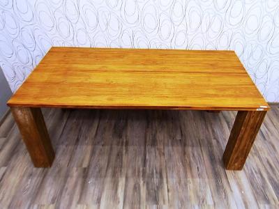 Luxusní jídelní stůl rozkládací, dřevo masiv (19815B) DOPRAVA ZDARMA