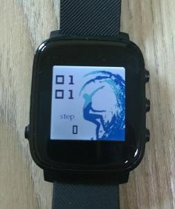 Chýtre hodinky CellularLine EASYSMART HR, černé