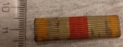 Pamětní medaile 1914-1918, Francie, legie, stužka